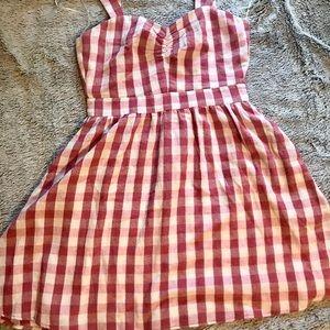Super Cute Zara Plaid Dress